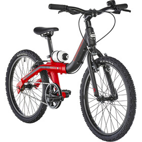 ORBEA Grow 2 1V Enfant, black/red